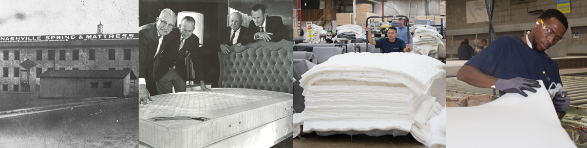 Southerland inc mattress high point spring show bedding for Southerland inc